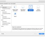 iOS - Vytváření projektu